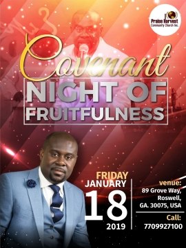 Covenant Night of Fruitfulness